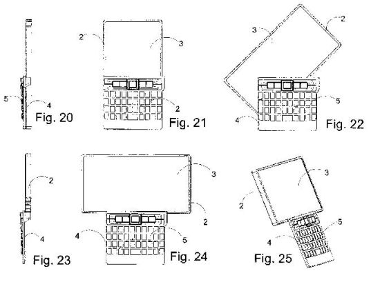 Nokia patent shows E71 with large swivel touchscreen