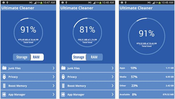 how to clean your phone storage