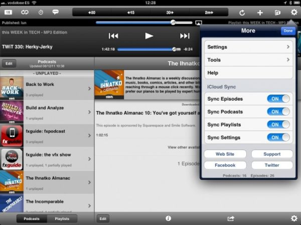 Downcast Podcatcher App