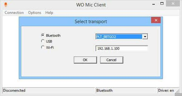 Using your android device as a microphone (2)