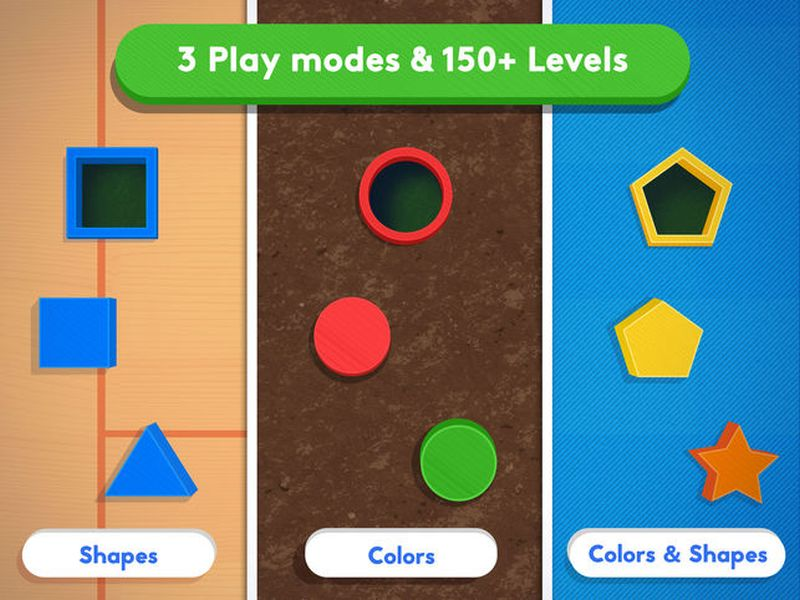 Busy Shapes and Colors