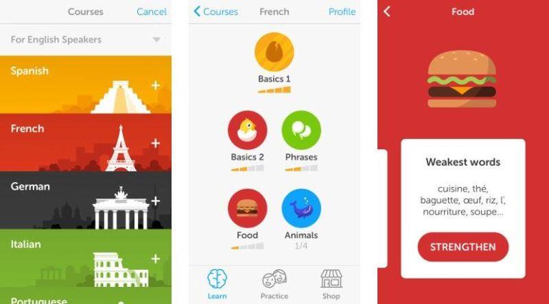 Learn a Language App