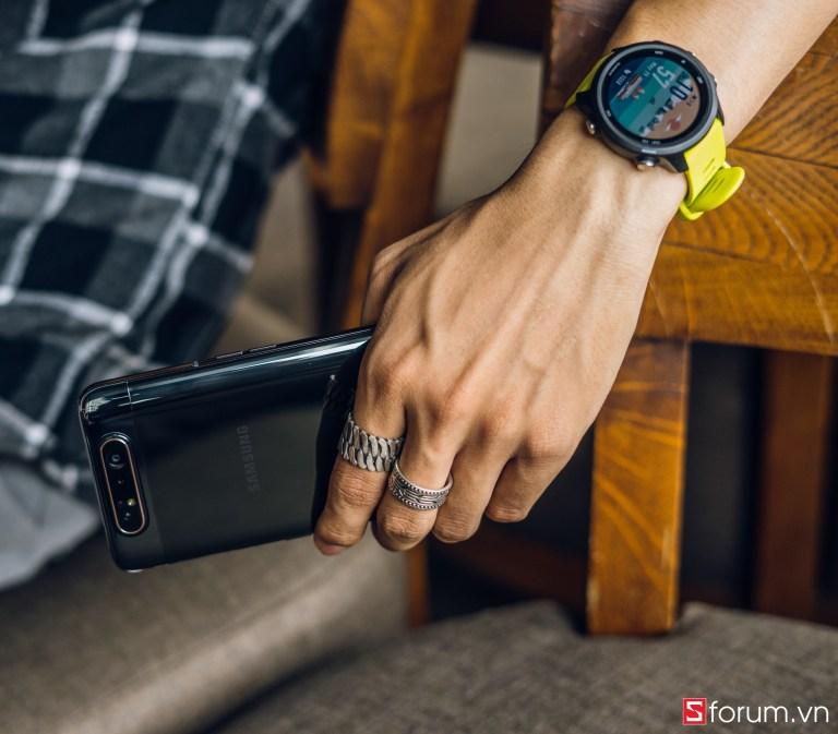 """Sforum - Trang thông tin công nghệ mới nhất CPS-Garmin-Forerunner-245-40 Đánh giá Garmin Forerunner 245: Smartwatch """"thực dụng"""" dành cho kẻ si mê sự bền bỉ"""