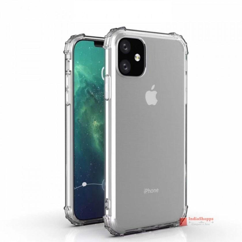 """Sforum - Trang thông tin công nghệ mới nhất anh-render-iPhone-XR-2019-2 Đến lượt iPhone XR 2019 lộ diện: Màn hình """"tai thỏ"""", 4 tùy chọn màu sắc, camera sau kép"""
