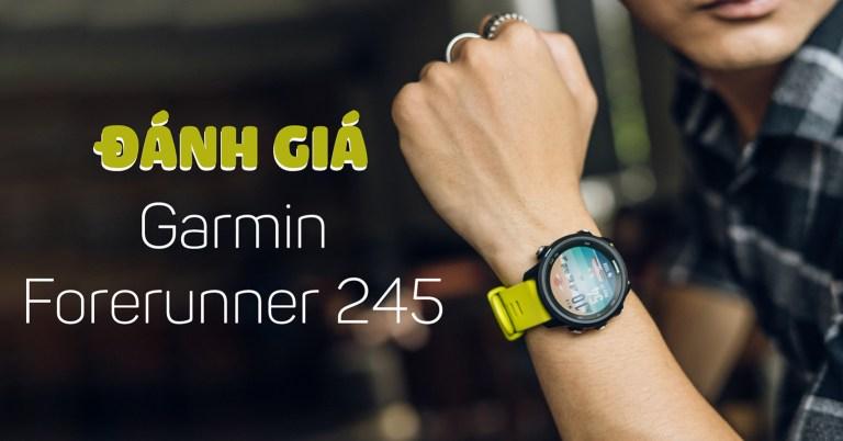 """Sforum - Trang thông tin công nghệ mới nhất garmin-245 Đánh giá Garmin Forerunner 245: Smartwatch """"thực dụng"""" dành cho kẻ si mê sự bền bỉ"""