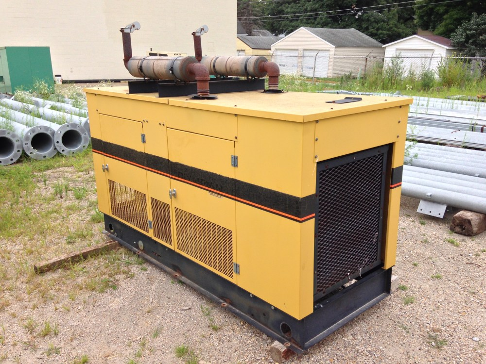 medium resolution of generac 45kw natural gas used generator