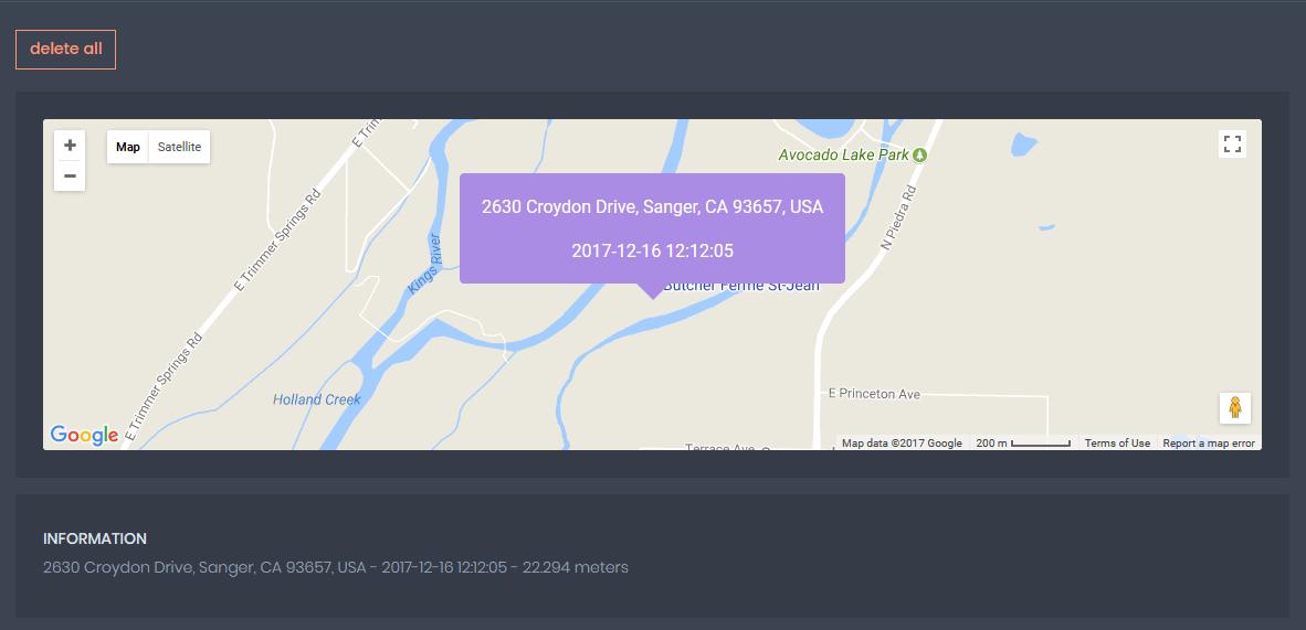 WhatsApp Location Tracking