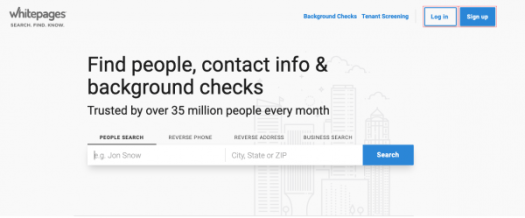 how to find someone's location by cell phone number using Whitepages