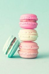 pastel macarons french aesthetic food wallpapers colors cellularnews