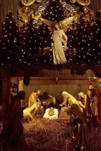 Beautiful Nativity Wallpaper : beautiful, nativity, wallpaper, Download, Beautiful, Christmas, Stable, Wallpaper, CellularNews