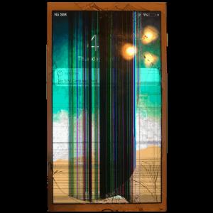Broken Line iPhone Screen Repair
