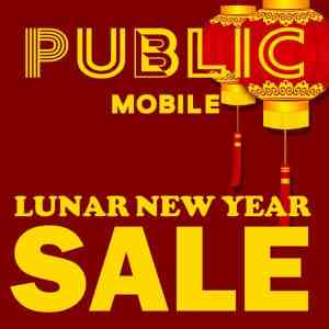 Public Mobile Lunar New Year Sale