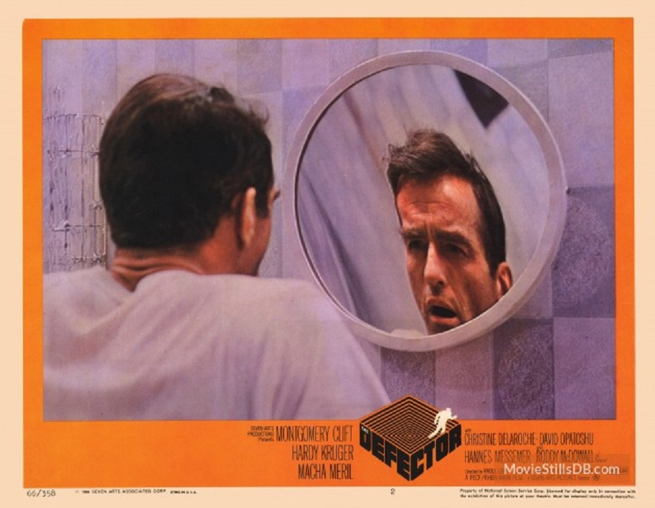 Image result for images, montgomery clift in the defector