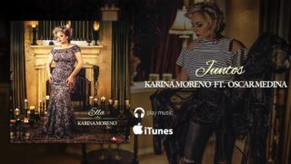 Es la portada del disco de Karina Moreno ELLA