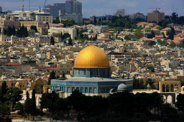 Es una foto de Jerusalen