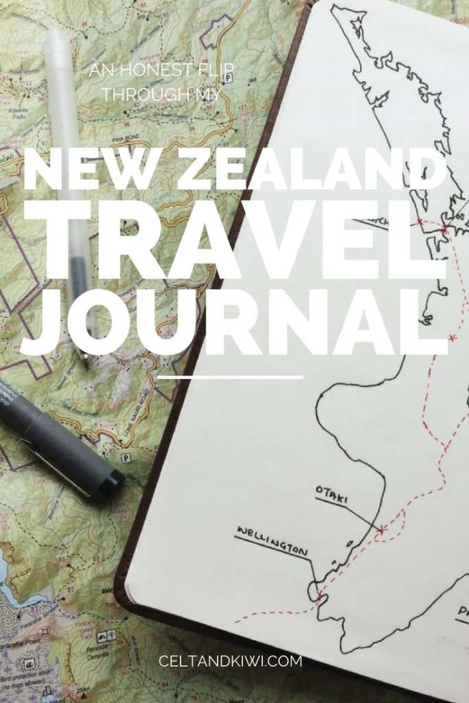nz travel journal pin