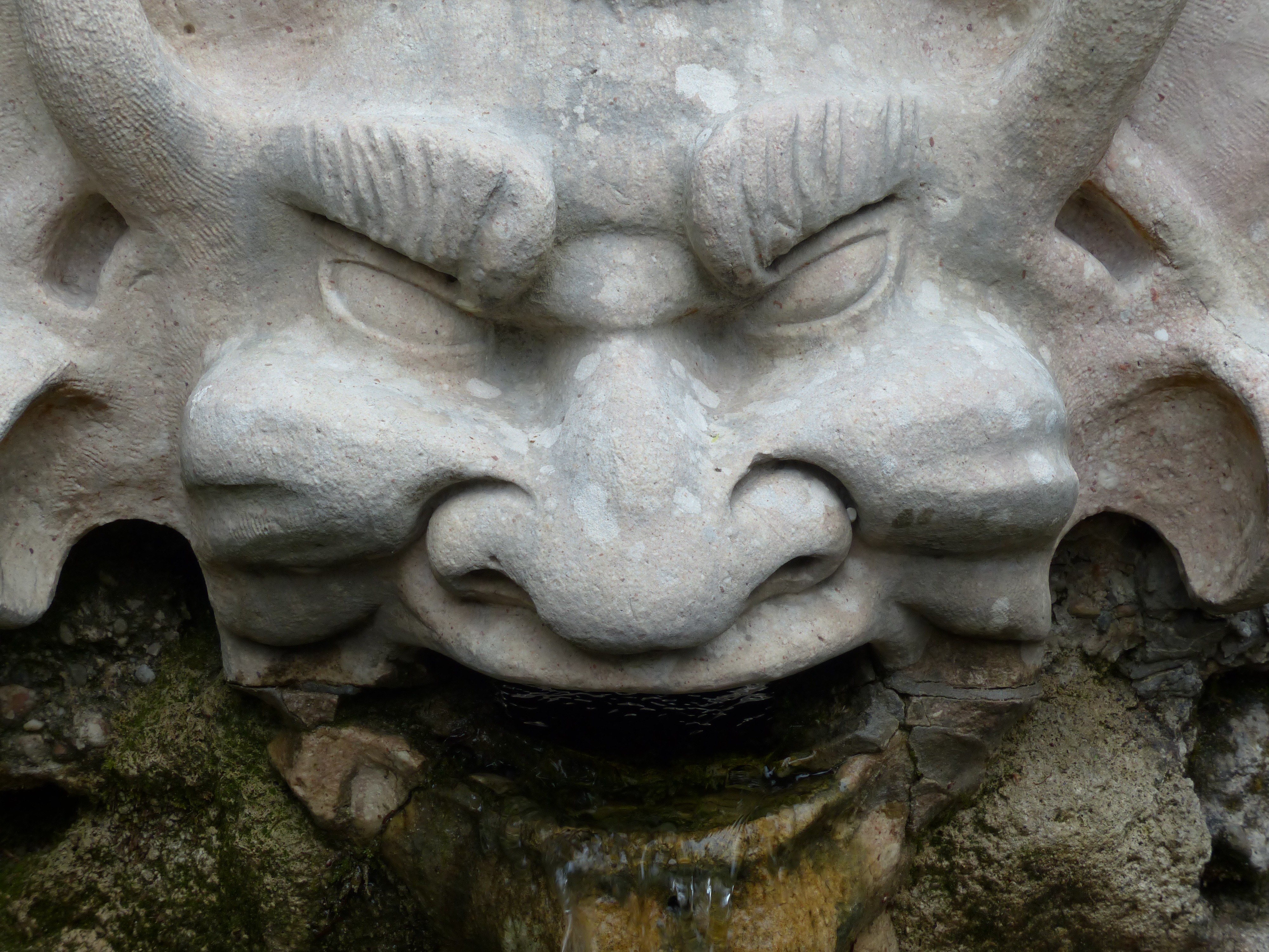 Scary Stone Face