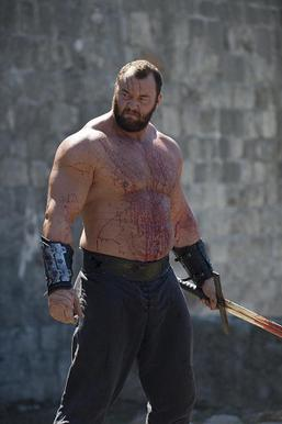 The mountain from Game of Thrones.