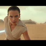 Rey with Lightsaber E9