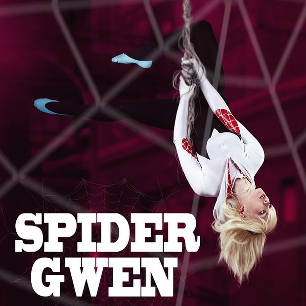 Spider Gwen Cosplay from Russia
