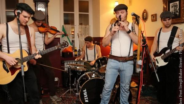 RESTLESS FEET – Almost Irish (2013)