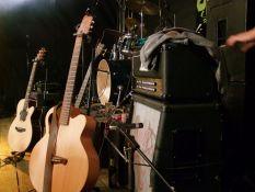 Instrumente auf der Bühne