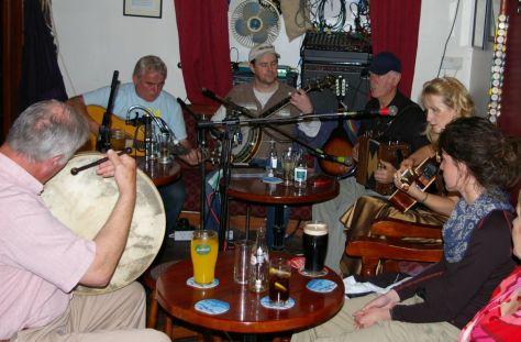 Banjo im Corner House