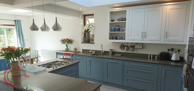 Affordable bespoke kitchen in North London by Celtica Kitchens