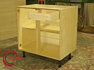 Birch ply cabinet carcase