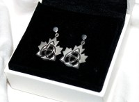 Celtic Maple Leaf Earrings