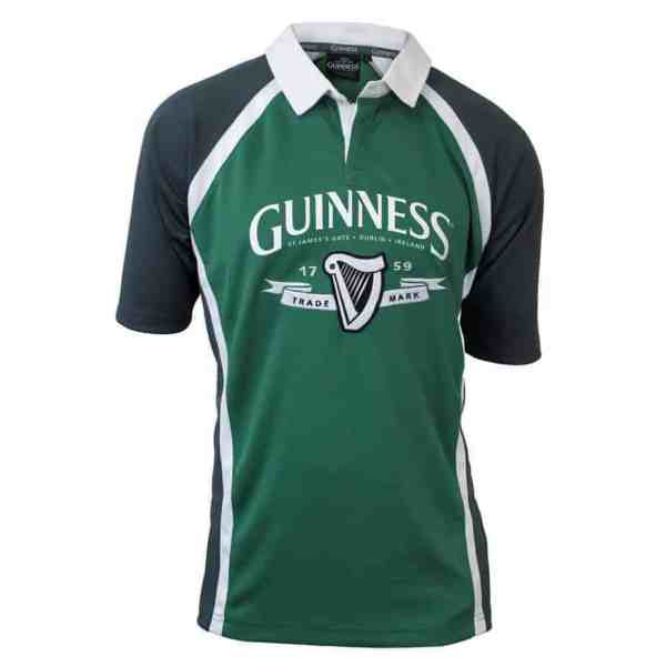 Guinness Rugby Shirt - Green