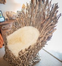Game of Thrones Driftwood Throne