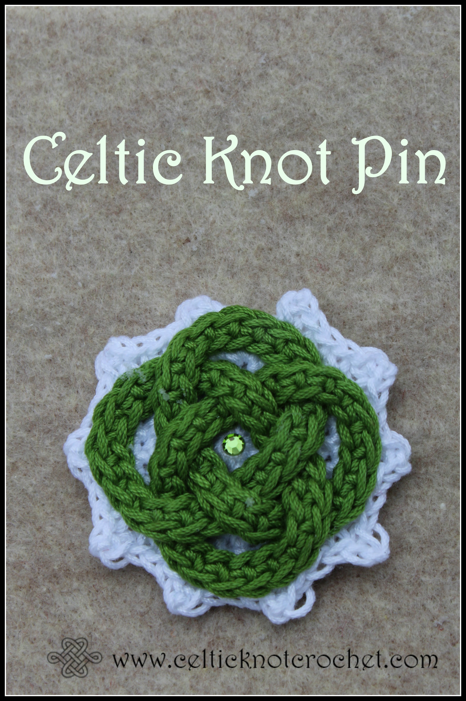 Celtic Knot Pin