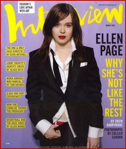 Ellen Showing the Red