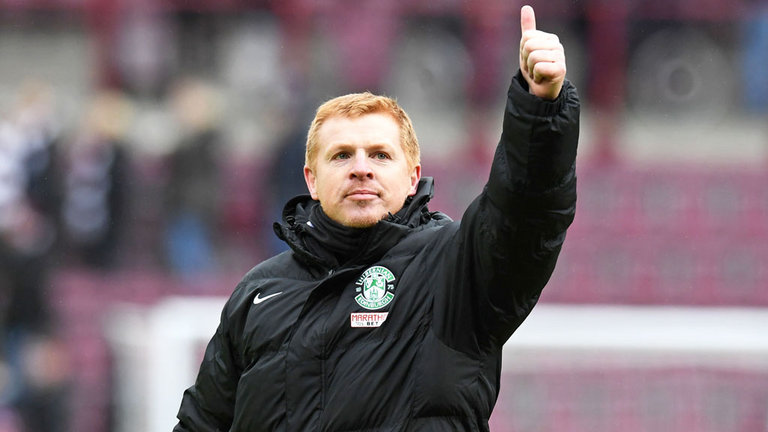 Neil Lennon Bursts Ibrox Fans Bubble