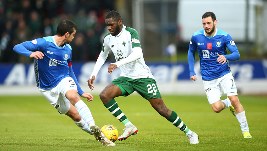 Rodgers To Start With Edouard Up Front At Rugby Park