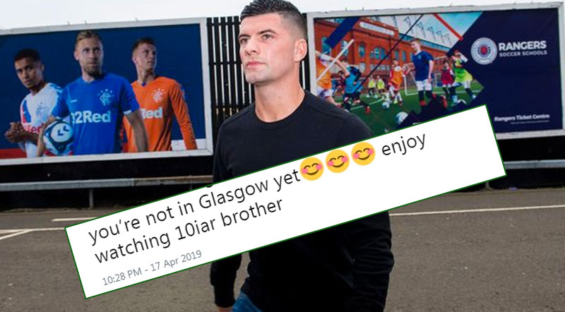 Belter - Ibrox Bound Star Told to 'Enjoy Watching 10-in-a-row'