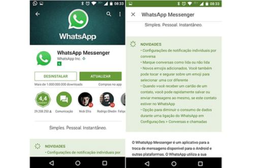 nao consigo baixar whatsapp no iphone x