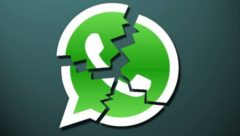 WhatsApp fora do ar