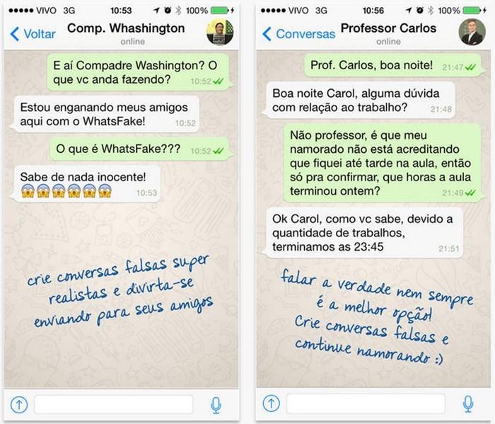 Whatsapp fake numero brasileiro