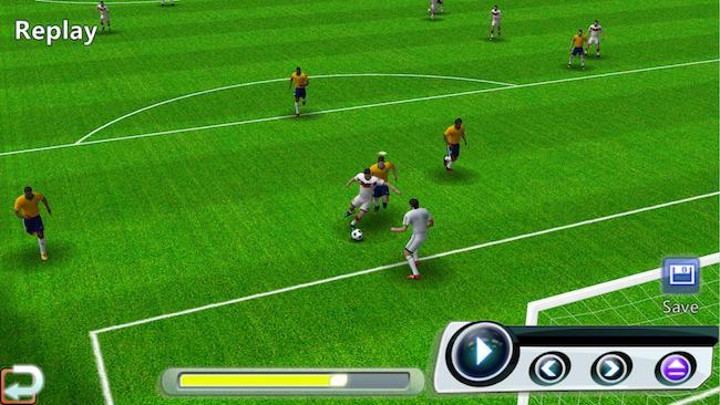 Jogo futebol vencedor