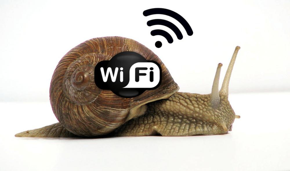 Wifi do meu celular está Lenta