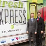 Discovery Triangle Launches Initiative to  Bring Fruits, Vegetables to Underserved Areas on Retrofitted City Bus
