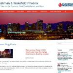 CUSHMAN & WAKEFIELD OF ARIZONA LAUNCHES METRO PHOENIX BLOG