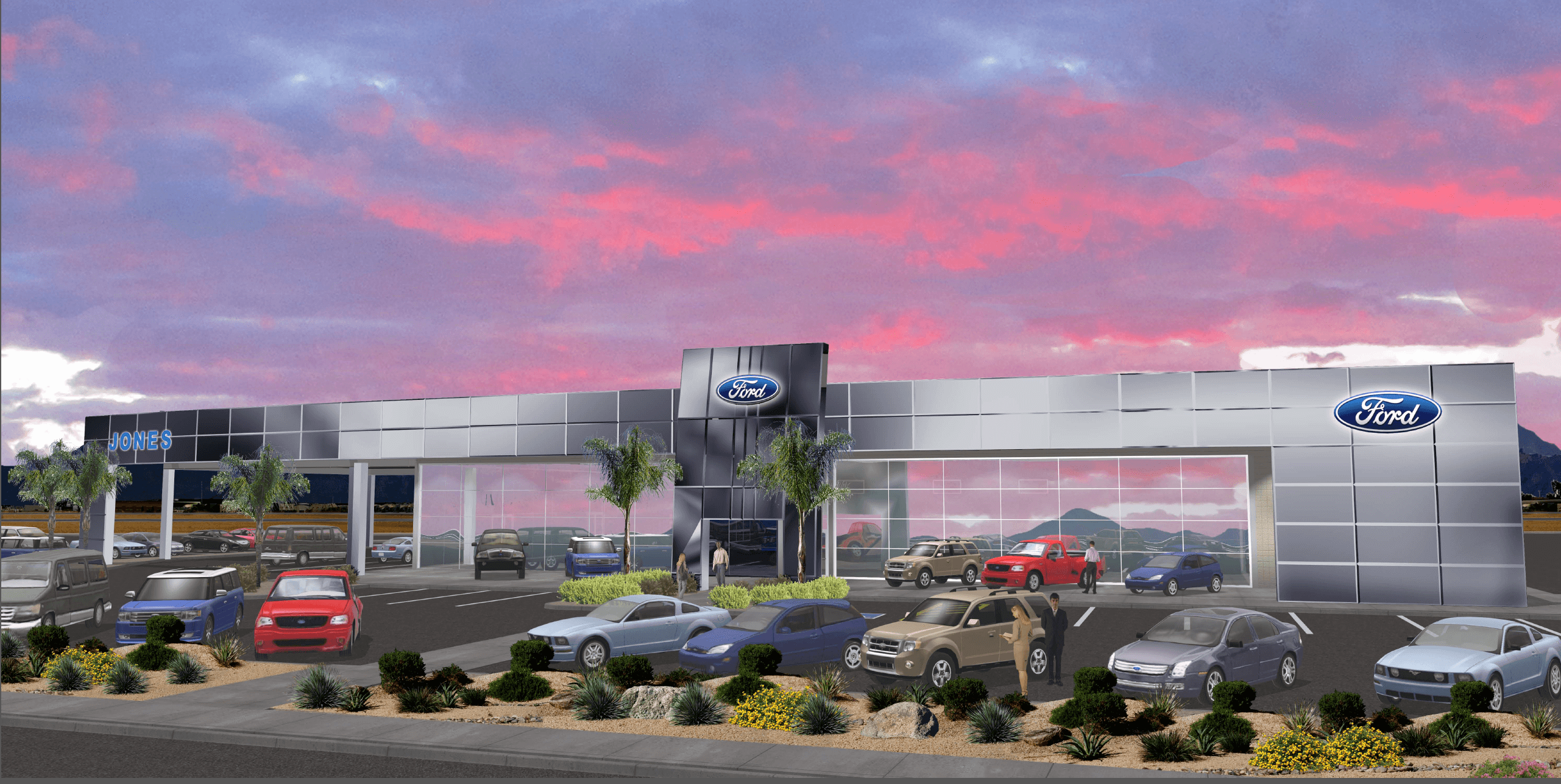 this dealership composite hoerr incorporates p completely panel sq brand renovation wall new aluminum a acm and yemm addition ford curtain inc dsc j facade structure well renovationaddition as ft glass material