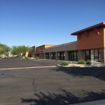 75th & Peoria Shopping Center, new ownership, renamed Santana Village Crossing & property improvements doubles occupancy