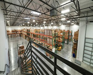 LGE Design Build Completes 32,500 SF Office/Warehouse for Food Service Equipment Distributor