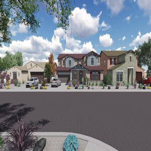 Villages at Barnett - Rendering Image