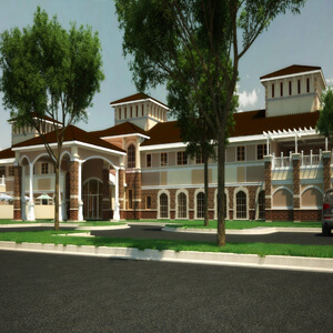 Mission at Agua Fria Rendering