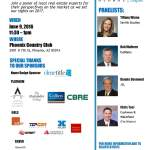 "Valley's top market leaders come together for CoreNet Global Arizona's ""Midyear Market Update: Brokers' Perspective"""